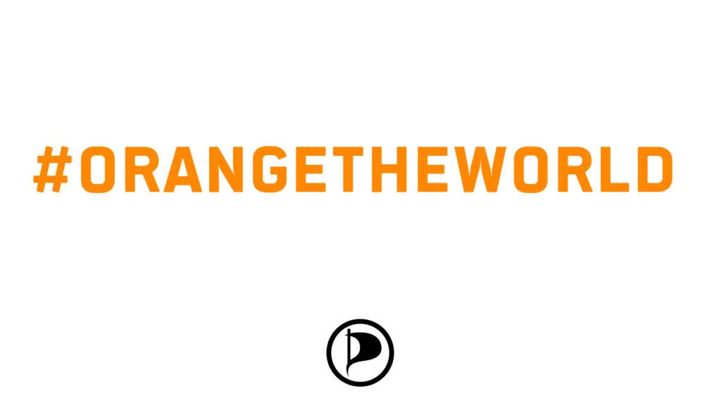 #orangetheworld Nein zu Gewalt an Frauen